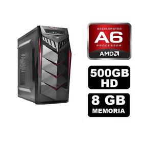 Pc Gamer Amd A6 7400k 8gb Ram + Brinde