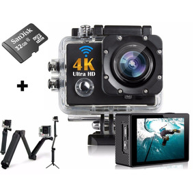 Action Camera Go Pro Wi-fi 4k 1080p Prova D