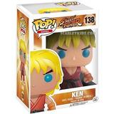 Funko Pop! Street Fighter Ken 138 Original Scarlet Kids