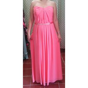 Vestido Largo Rosa L