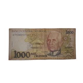 Mil Cruzeiros - Dinheiro - Cédula Rara Original - Cod50i