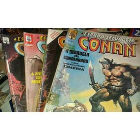 Quadrinhos-conan Espada Selvagem -34 Exemplares-raro+brinde