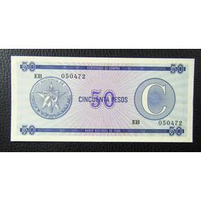 Cuba Billete 50 Pesos Unc Pick-24 1985