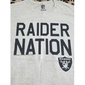Playera Oakland Raiders Raider Nation Nfl Oficial Original 1362ee78e39