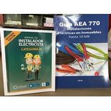 Manual Instalador Electricista Cat. 3 V. 2018 + Guía Aea 770