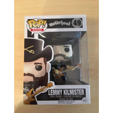 Funko Pop Rock Lemmy Kilmister Número 49