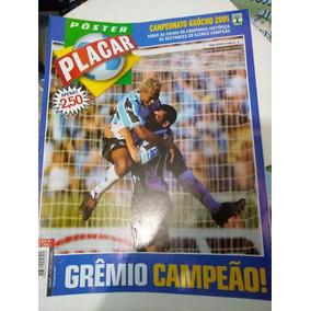 Pôster Gigante Grêmio Campeão Gaúcho 2001 Gigante