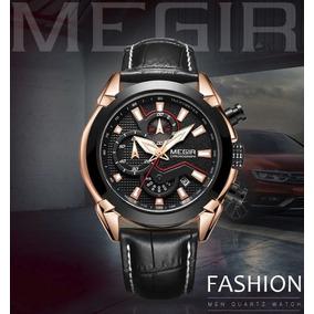 045ef90efc1 Relogio Megir Masculino - Relógio Masculino no Mercado Livre Brasil