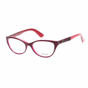 Armação De Óculos De Grau Guess Feminino - Gu2509 081