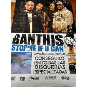 Poster Banda Banthis - Argentina - Stopmeifucan