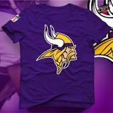 6074db6f36299 Camisa Camiseta Nfl Futebol Americano Minnesota Vikings
