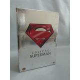 Box Superman 4 Dvds Filmes Originais