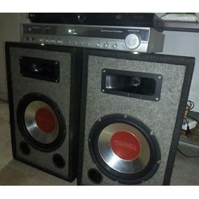 Combo Sonido Dvd Lg Hdmi + Amplificador Yamaha + Dos Cajones
