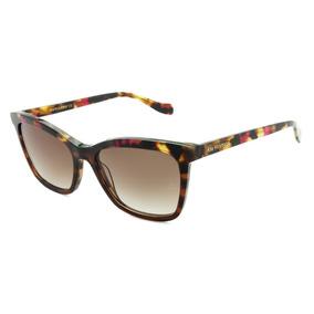 f12acd821ac85 Óculos De Sol Ana Hickmann Quadrado Creme Frete Grátis - Calçados ...