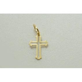 fa6f20e4a2c57 Pingente Ouro Crucifixo - Pingentes de Ouro no Mercado Livre Brasil