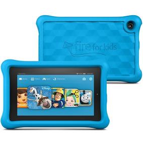 Tablet Amazon Fire 7 16gb Kids Edition Azul Novo Original