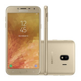 Samsung Galaxy J4 2018 J400m/ds 32gb Dourado Lacrado