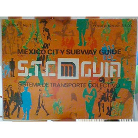 Guía Del Metro (mexico City Subway Guide). Año 1971 Ej. 1