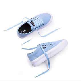 8e0336e21 Zapatillas Vans Mujer Nuevas - Zapatillas Vans de Mujer Azul claro ...