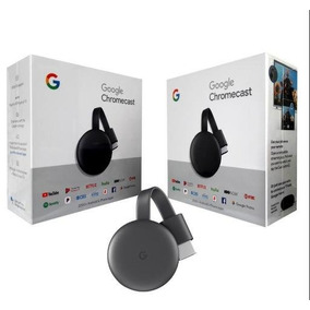 Google Chromecast 3 Hdmi Edição 2019 Original