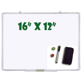 16 X 12 - Oficina Pro Magnético Dry Erase Board Rotul-2416