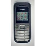 Celular Com Carinhas Na Agenda Nokia 1208 Oi Tim Vivo Claro