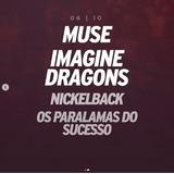 Ingresso Rock In Rio 2019 Muse - Imagine Dragons 06/10