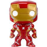 Figura Muñeco Funko Pop Marvel Civil War Iron Man 126