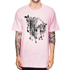 Camisas Estampas Florais Masculinas - Camisetas e Blusas no Mercado ... dfa01735273