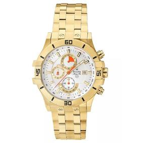 42afb1360f0 Relogio Dourado - Relógio Bulova Masculino no Mercado Livre Brasil