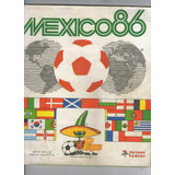 Album Copa Mundial Mexico 86 .- Panini