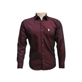 97b3492ac04 Camisa Polo Ogochi - Camisa Masculino Bordô no Mercado Livre Brasil