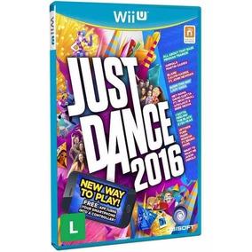 Just Dance 2016 - Jogo P/ Nintendo Wii U Original - Lacrado