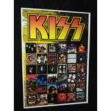Poster Kiss Discografia Banda Kiss Alive! Cd Kiss Show