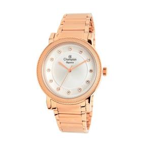 2dc16d1dcb3 Nova Coleção Champion Feminino Strass Rose - Relógios De Pulso no ...