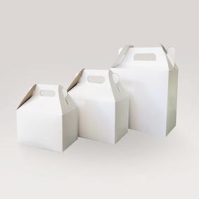 100 Cajas Cartón Grande Boxlunch, Lonchera, Cajita, Dulces