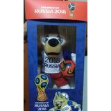 Peluche Zavibaka Rusia 2018 Mascota Del Mundial En Caja