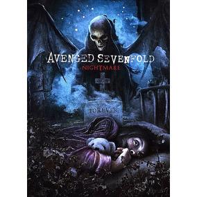 Pôster Decorativo Banda Avenged Sevenfold 91x61cm
