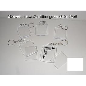 cfee6ef6e0971 Chaveiros De Acrilico Para Foto 3x4 100 Unidades - Artesanato no ...