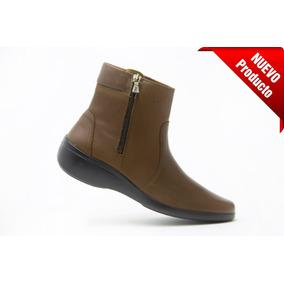 2b1c7075bbd40 Botines Dama Piso Tipo Vaquero Mujer Flexi - Zapatos en Mercado ...
