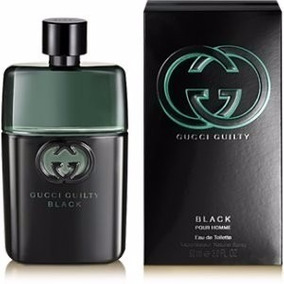 Perfume Original -- Gucci Guilty Black -- Caballero 90ml