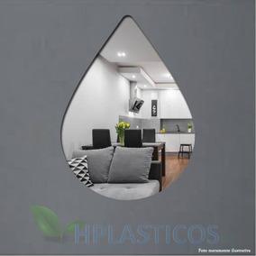 Espelho Decorativo Gota De Água Grande
