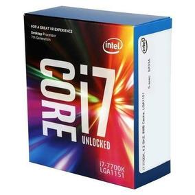 Processador Intel Core I7-7700k 7a Ger Lga1151 4,2ghz