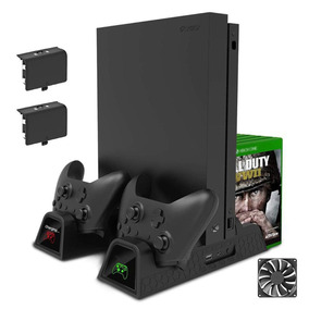 Suporte Base Vertical Xbox One/one S/x Cooler Dock Cabo Usb