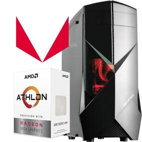 Pc Cpu Gamer Athlon 200ge Radeon Vega 3 550w 4gb Ddr4