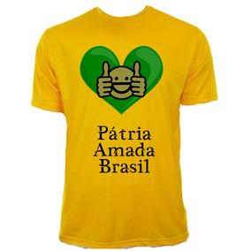 3370bae8871fb Camiseta M Scara Passeata Protesto Frases - Camisetas no Mercado ...