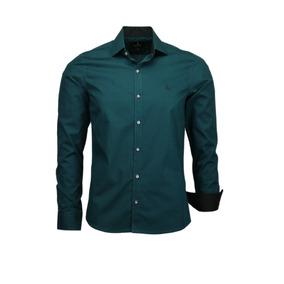 Camisa Amil Pienza Slim Masculina M Longa Lançamento 2019