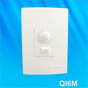Sensor De Presença De Parede Com Fotocélula Qi6m Qualitronix