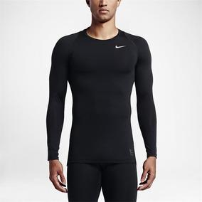 Camisa Nike Pro Cool Compressão Manga L. Térmica e419a4b1da7ad