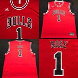 Camisa Regata Nba Chicago Bulls  1 Rose Tam Gg (82x67) Ótimo 7e0983488df